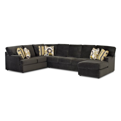 Klaussner St. Louis Leather Sofa
