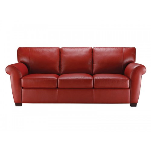 Red Leather Sofa St. Louis