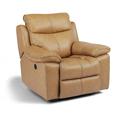 Leather Sofa and Recliner