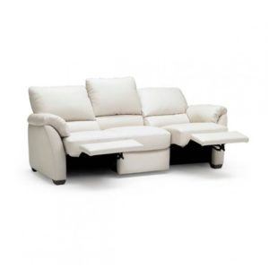 St Louis Leather Reclining Couch