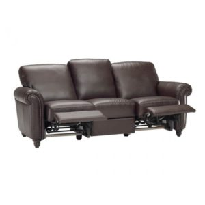 St Louis Leather Reclining Sofa