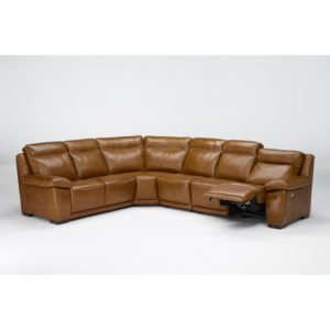 St Louis Leather Reclining Sectional Sofa