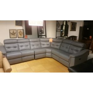 St Louis Leather Sectional Clearance