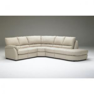 St Louis Natuzzi Leather Reclining Sectional