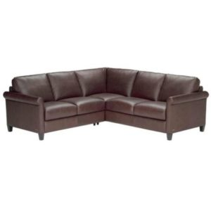 Fairview Heights Leather Sectional