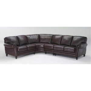 Chesterfield, MO, Leather Sectional
