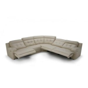 Leather Reclining Sectional near Caseyville