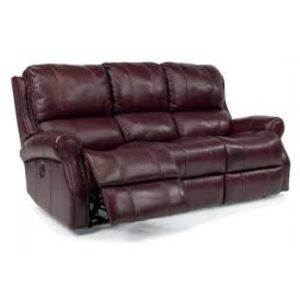 Leather Reclining Sofa near St. Charles, MO