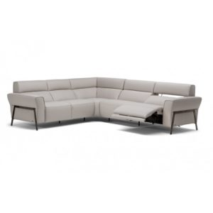 Leather Reclining Sectional near Granite City