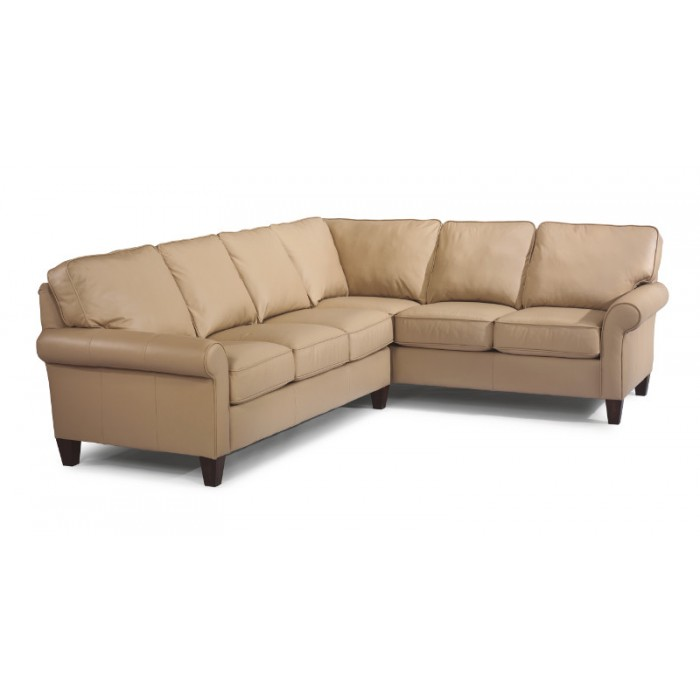 Leather Reclining Sectional near Springfield, IL