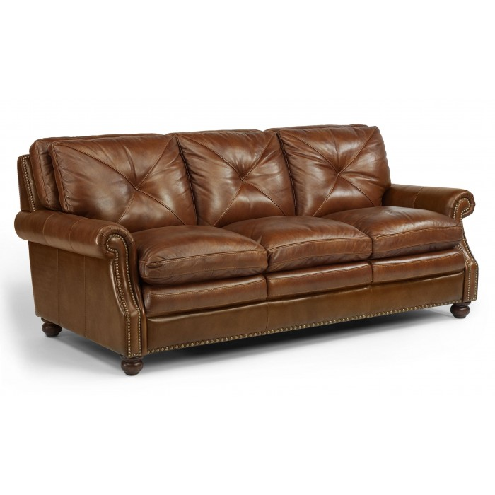 Flexsteel Leather Sofa near Florissant, MO