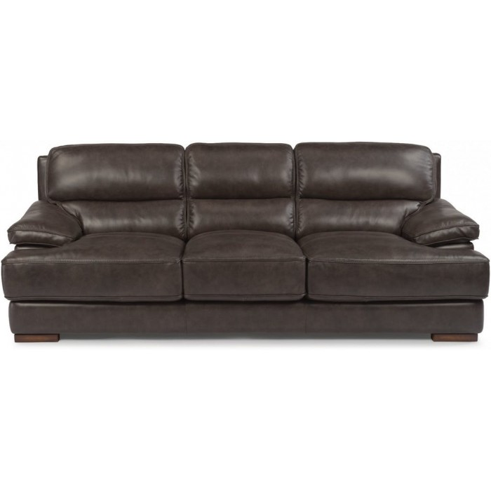 Leather Flexsteel Sofa near St. Charles, MO