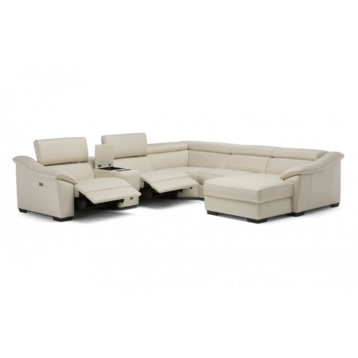 Reclining Leather Sectional near Springfield, IL