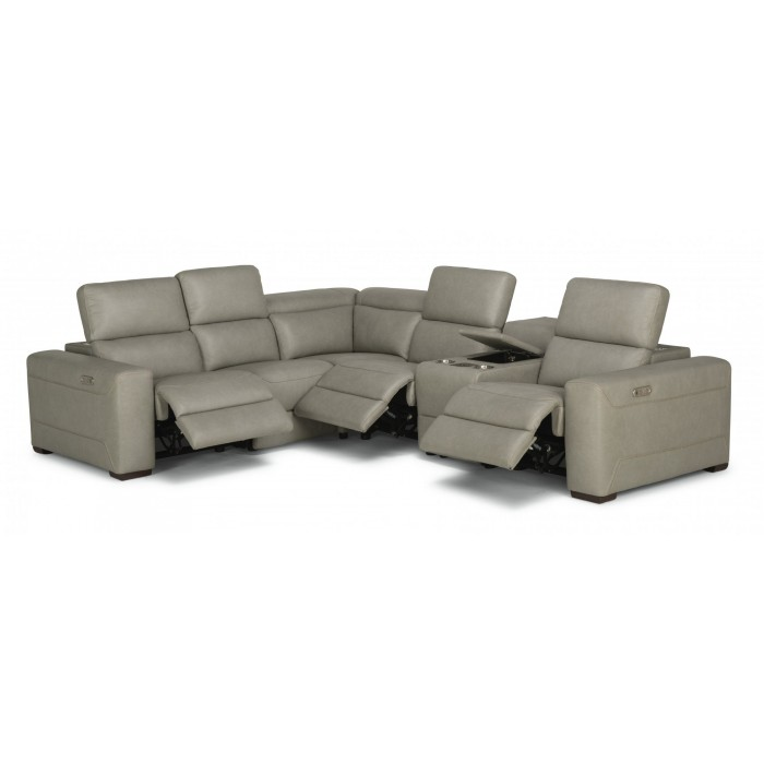 Leather Flexsteel Sectional Near Millstadt