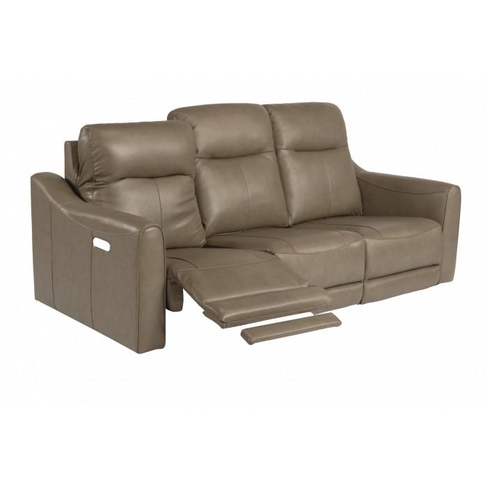Leather Reclining Sofa near Springfield, IL