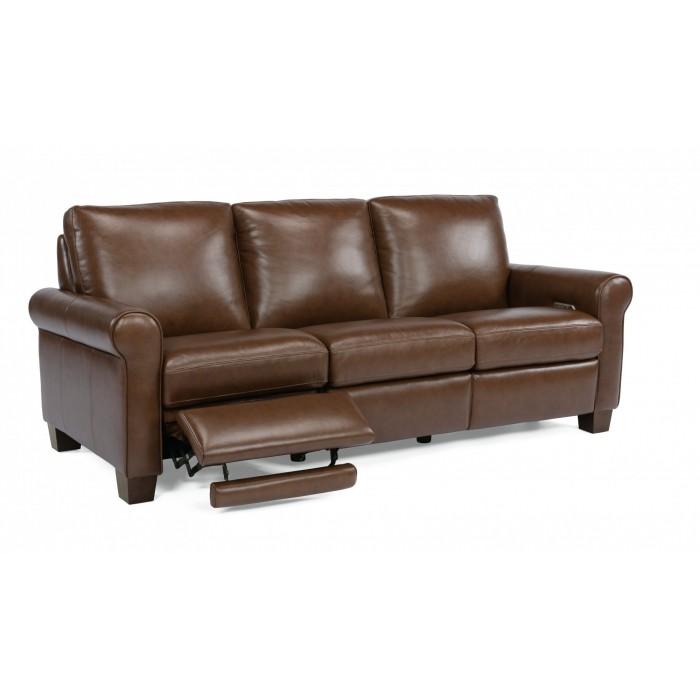 Leather Reclining Sofa near Caseyville
