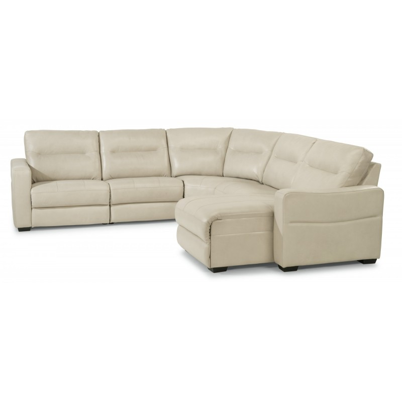 Leather Reclining Sectional near Swansea