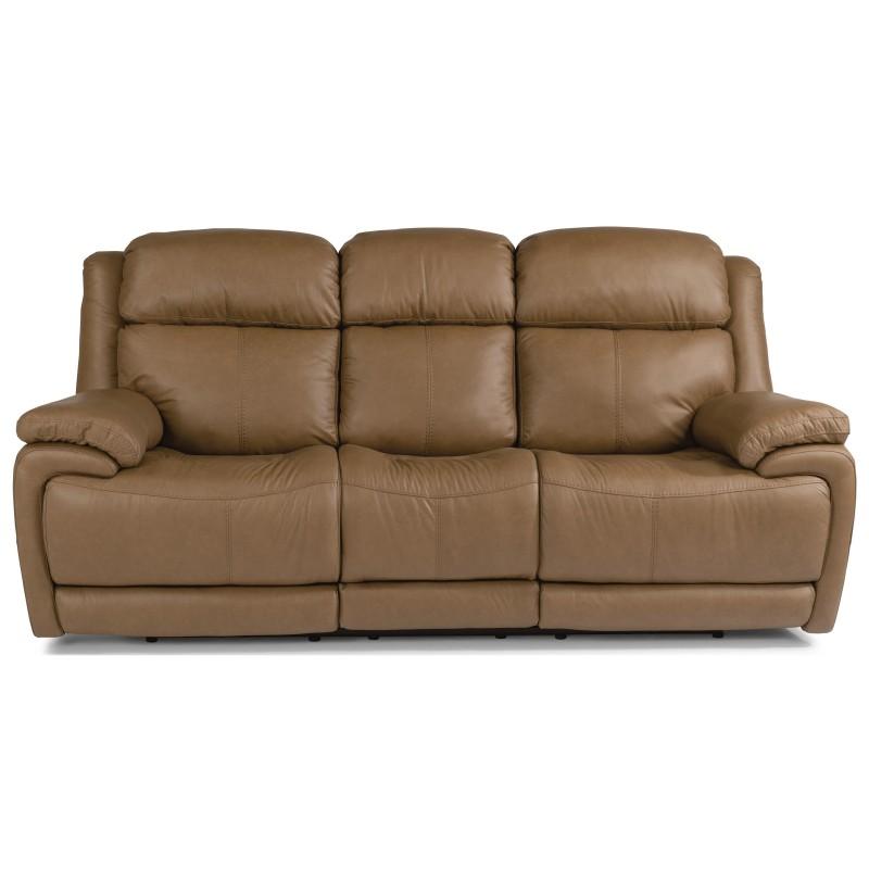 Leather Flexsteel Sofa near St. Charles, MO