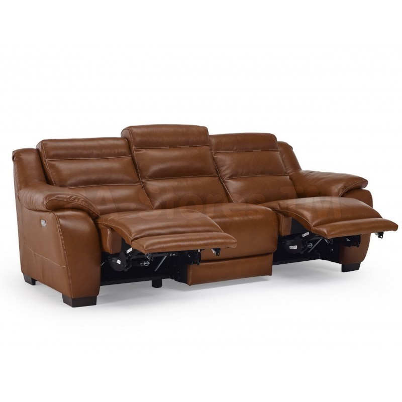 Leather Reclining Sofa near Ballwin, MO