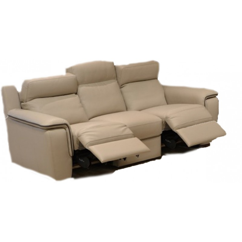 Leather Reclining Sofa in St. Louis