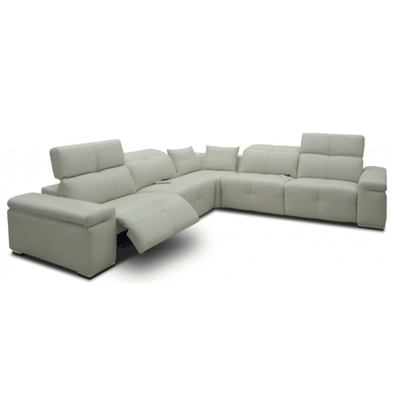 Leather Reclining Sectional Near Springfield IL