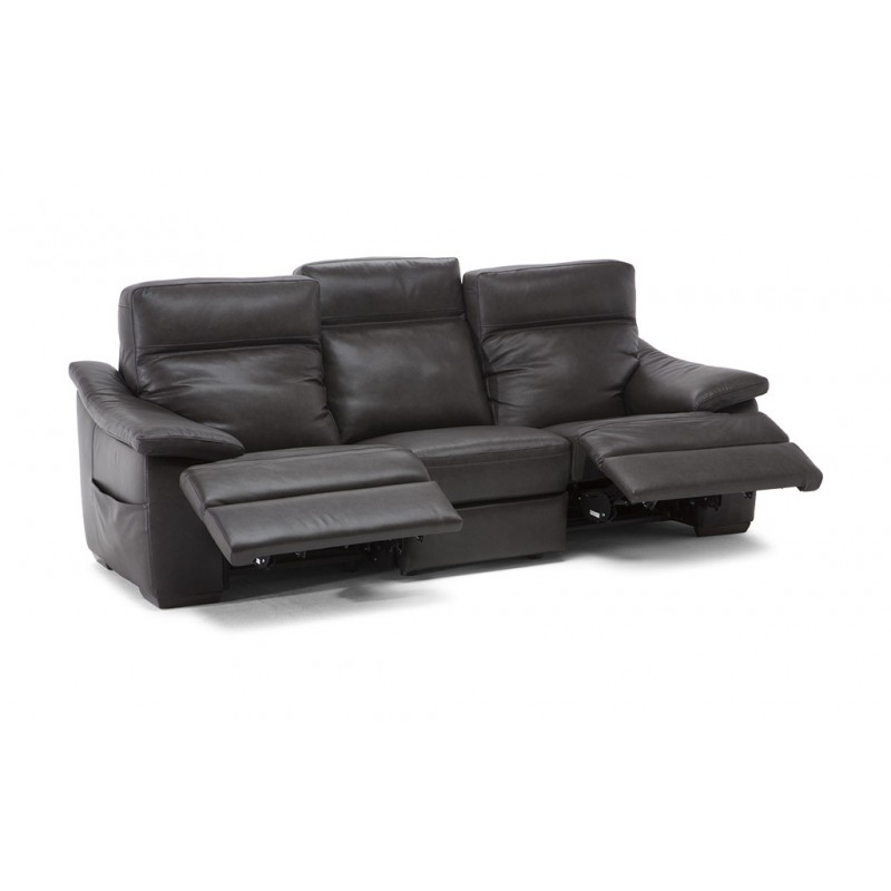 St. Louis Leather Reclining Sofa